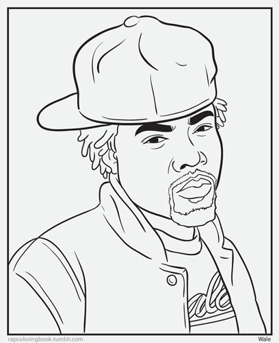 mac miller coloring pages - photo#37