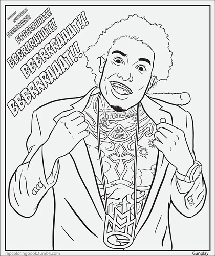 mac miller coloring pages - photo#29