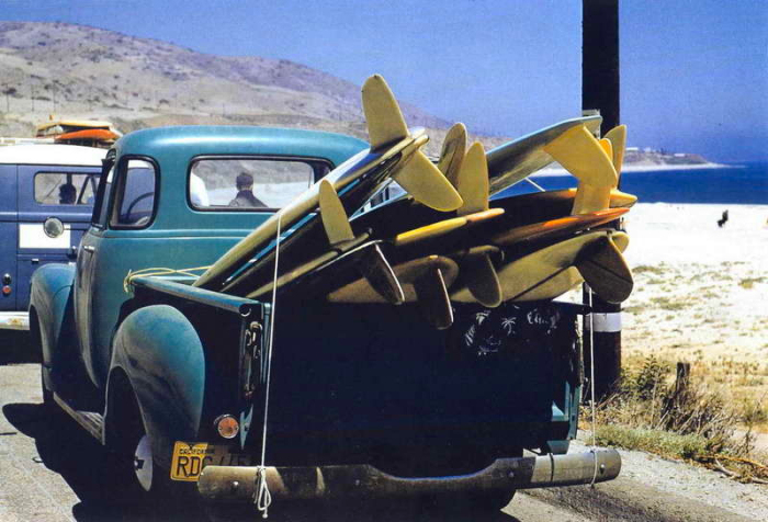 leroy-grannis-pickup-truck-surf-board-photo